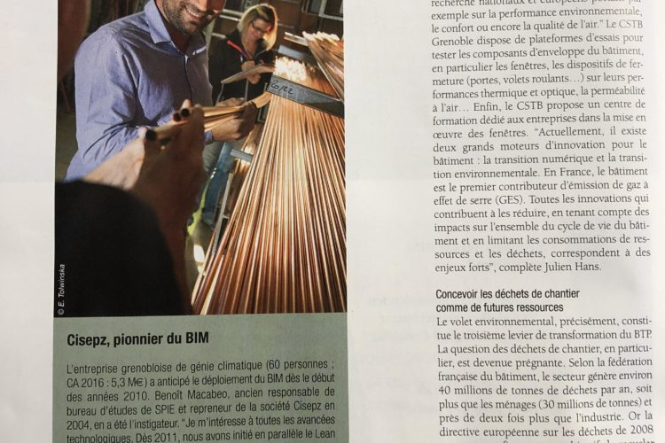 «Les Coulisses du Bâtiment»