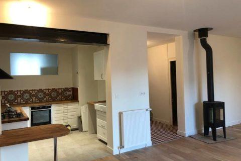 Travaux de rénovation appartement