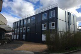 Bâtiment modulaire pour l'Université à Villeurbanne