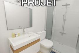 Projet de rénovation d'une salle de bain